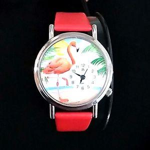 Flamingo Watch NWOT